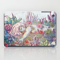 succulents iPad Cases featuring Succulents by Allie Morris