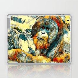 AnimalArt_OrangUtan_20170601_by_JAMColorsSpecial Laptop & iPad Skin
