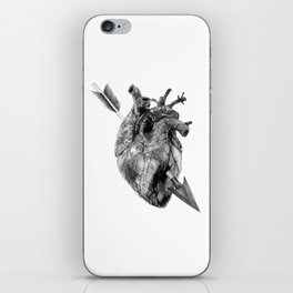 Wounded Heart iPhone Skin