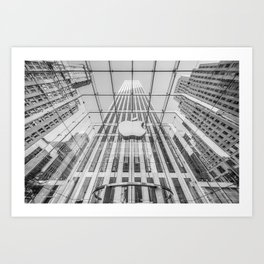 Big Apple in the Big Apple Art Print