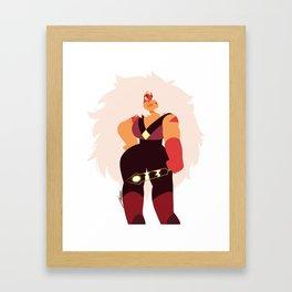 Jasper lineless Framed Art Print