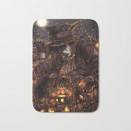 Dark giro halloween Bath Mat