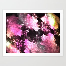 Core exploration Art Print