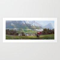 EPic vista  Art Print