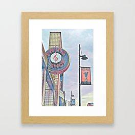 Swing! Swing! Framed Art Print