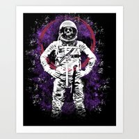 buzz lightyear Art Prints featuring This Ain't No Buzz Lightyear Action Flick by WhotheFisJC