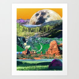 Dream World  Art Print