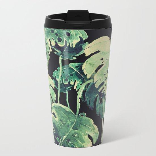 tropical in the dark Metal Travel Mug
