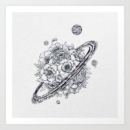 Flowery Planet. Kunstdrucke