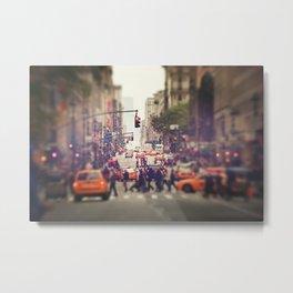 Down the Avenue Metal Print