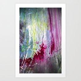Paint Patterns Art Print