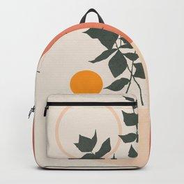 Geometric Modern Art 42 Backpack
