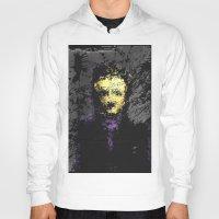 edgar allan poe Hoodies featuring Edgar Allan Poe by brett66