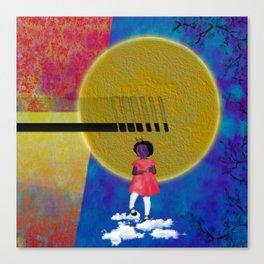 Purple In The Sun Canvas Print