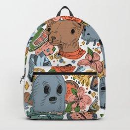 Springtime Pattern Backpack