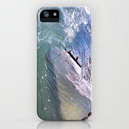 Clear Curl iPhone Case