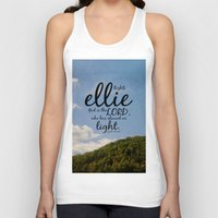 ellie goulding Tank Tops featuring Ellie by KimberosePhotography
