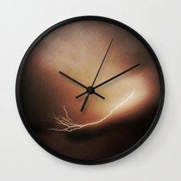 Lightning Bolt II Wall Clock