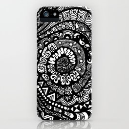 Tree of Tangles iPhone Case