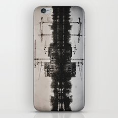 Industrial (retro postcard) iPhone & iPod Skin
