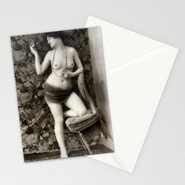 Vintage Nude Art Beauty No. 110 of 250, from the Vintage Nude Arts Collection. Stationery Cards
