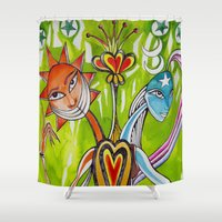 alchemy Shower Curtains featuring Alchemy  by LuxMundi