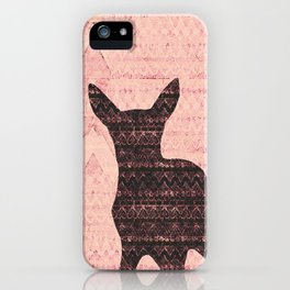 Rehkitz Pattern-Art  iPhone Case