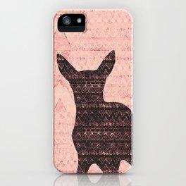 Rehkitz Pattern-Art  iPhone Case