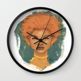 The brave love Wall Clock