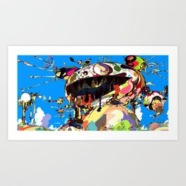 Takashi Murakami Tan Tan Bo Puking a.k.a. Gero Tan, 2002 Art Print