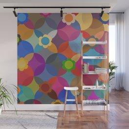 Geometric Floral 6 Wall Mural