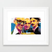 trainspotting Framed Art Prints featuring Trainspotting by Zmudartist