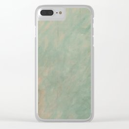 Morisot Brushmarks Clear iPhone Case