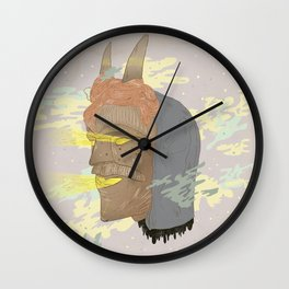 Careto #C01 Wall Clock