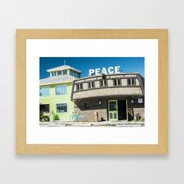 Otherside Board Shop, Key West Framed Art Print