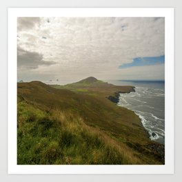 Bray Head Valentia Island, Co.Kerry, Ireland Art Print