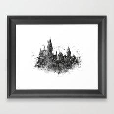 Hogwarts Framed Art Print