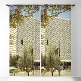 The Broad In the Afternoon Vintage Retro Photography I Blackout Curtain
