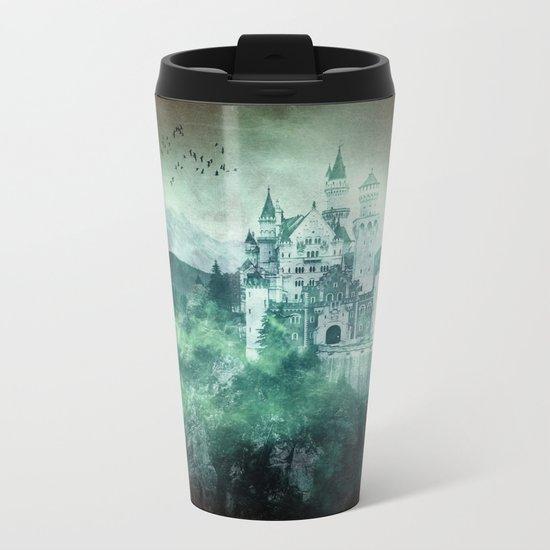 The dark fairytale - Bavarian Fairytale Castle Metal Travel Mug