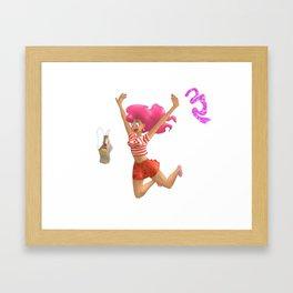 Coming home! Framed Art Print