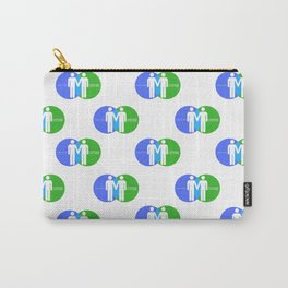Love Is For Everyone - Him & Him mini Carry-All Pouch