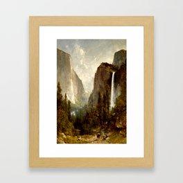 Bridal Veil Falls, Yosemite Valley 1892 Framed Art Print