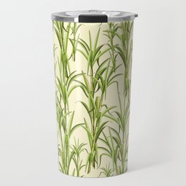 Sugar Cane Exotic Plant Pattern Travel Mug