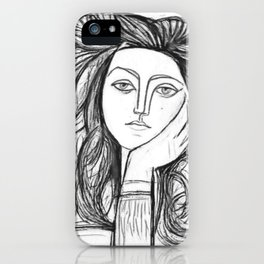 Don´t search, find. iPhone Case