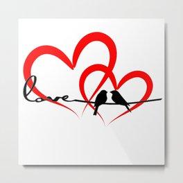 love bird Metal Print