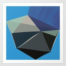 Classic Blue 3 Art Print
