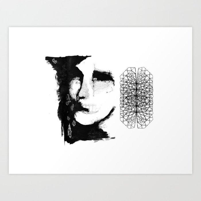 Caco de vidro Art Print