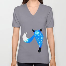 Icy Fox Unisex V-Neck