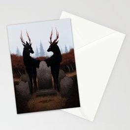 The Mourners Stationery Cards