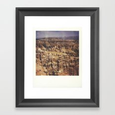 Bryce Canyon National Park Framed Art Print